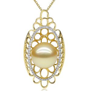 编织珍珠戒指图片