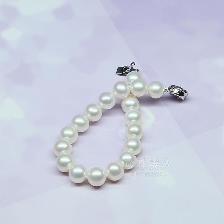 更有专业珠宝设计师为您定制个性珍珠手链