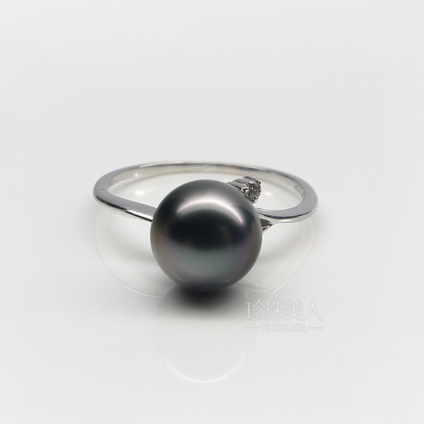 大溪地黑珍珠戒指【游阅】
